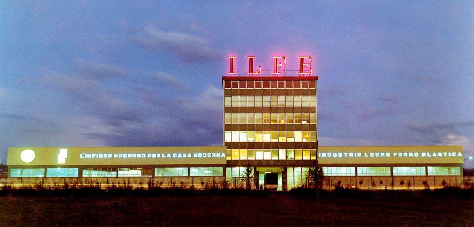 Il nuovo stabilimento ILFE Serramenti nel 1964 | The new plant of ILFE Serramenti in 1964 - © Copyright Elcom System Spa - Tutti di diritti riservati / All rights reserved