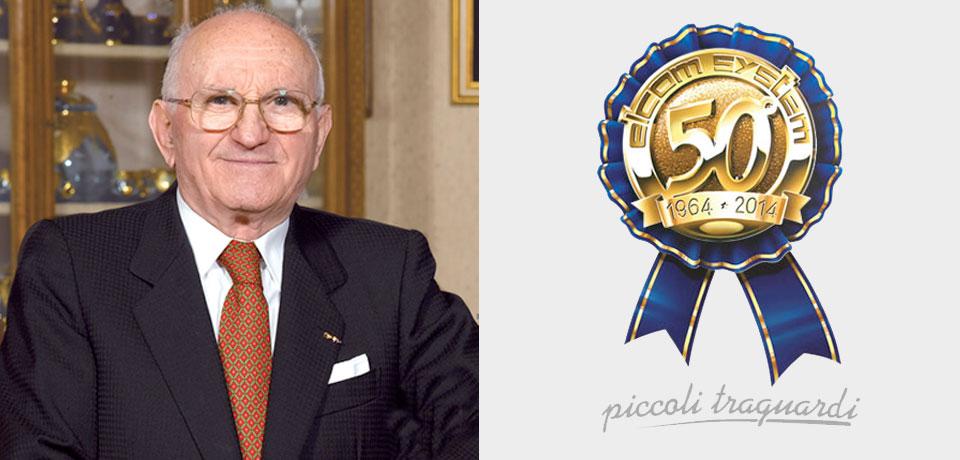 Il Commendatore Luigi Granieri, fondatore Elcom System (1927 - 2008). Alla conquista di nuovi traguardi - © Copyright Elcom System Spa - Tutti di diritti riservati / All rights reserved
